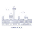 liverpool vector image