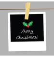 Merry Christmas card1 vector image