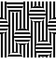 monochrome seamless striped pattern vector image vector image