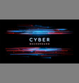 sci fi digital futuristic background vector image
