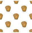 glove trap baseball single icon in cartoon style vector image