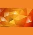 abstract polygonal background vector image