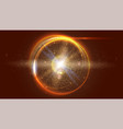 blurred light rays and lens flare backdrop glow vector image vector image