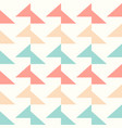 colorful triangle pattern vector image
