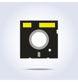 Diskette icon vector image