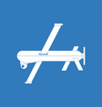 icon military drone vector image vector image