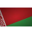 belarus flag vector image