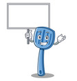 bring board spatula character cartoon style vector image vector image