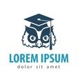 education schooling logo design template vector image vector image