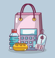 food supermarket products vector image
