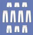 Pants vector image vector image