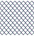 Chain-link fence seamless pattern vector image