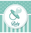 Baby Shower design pacifier icon graphic vector image vector image