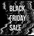 black friday sale background vector image