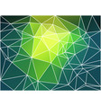 bright yellow green geometric background with mesh vector image