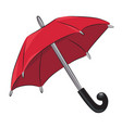 cartoon image of umbrella icon shelter symbol vector image vector image
