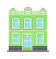 city house icon vector image vector image