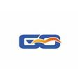 GQ letter logo vector image vector image
