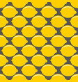 lemon yellow whole fruit seamless art on gray vector image
