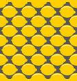 lemon yellow whole fruit seamless art on gray vector image vector image
