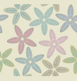 pattern with tropical leaves vector image