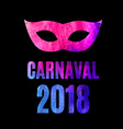 popular event brazil carnival in south america vector image vector image