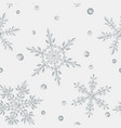 seamless pattern large transparent christmas vector image vector image