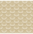 Seamless pattern of fabric lace ribbons vector image vector image
