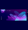 storm abstraction banner website template vector image