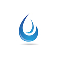 Water wave Logo Template vector image vector image