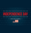 art independence day background style vector image vector image