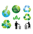 Eco environment vector image vector image