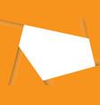 overlap paper card frame vector image