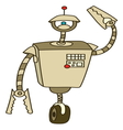 Robot3 resize vector image vector image