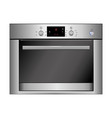 oven isolated on white eps vector image