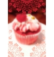 Positive sweet phone wallpaper or cover design vector image