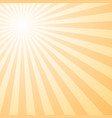 abstract retro gradient sun burst pattern vector image vector image