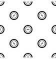 diagram pie chart pattern seamless black vector image vector image