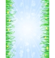 Grass Frame Background vector image