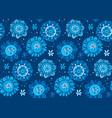 hand drawn cute snowflake vector image vector image