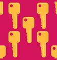 key seamless pattern vector image