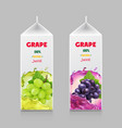 Packaging design for grape juice