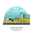 Power Generation Concept vector image vector image