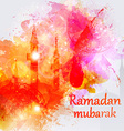Ramadan Kareem celebrations vector image