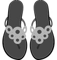 sandals vector image vector image