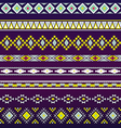 Seamless pattern for tribal design Ethnic motif 3 vector image vector image