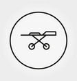stretcher on wheels medicine universal icon vector image