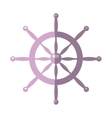 timon boat isolated icon vector image vector image