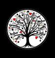 tree life vector image