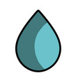 water drop to conservation and care environment vector image vector image